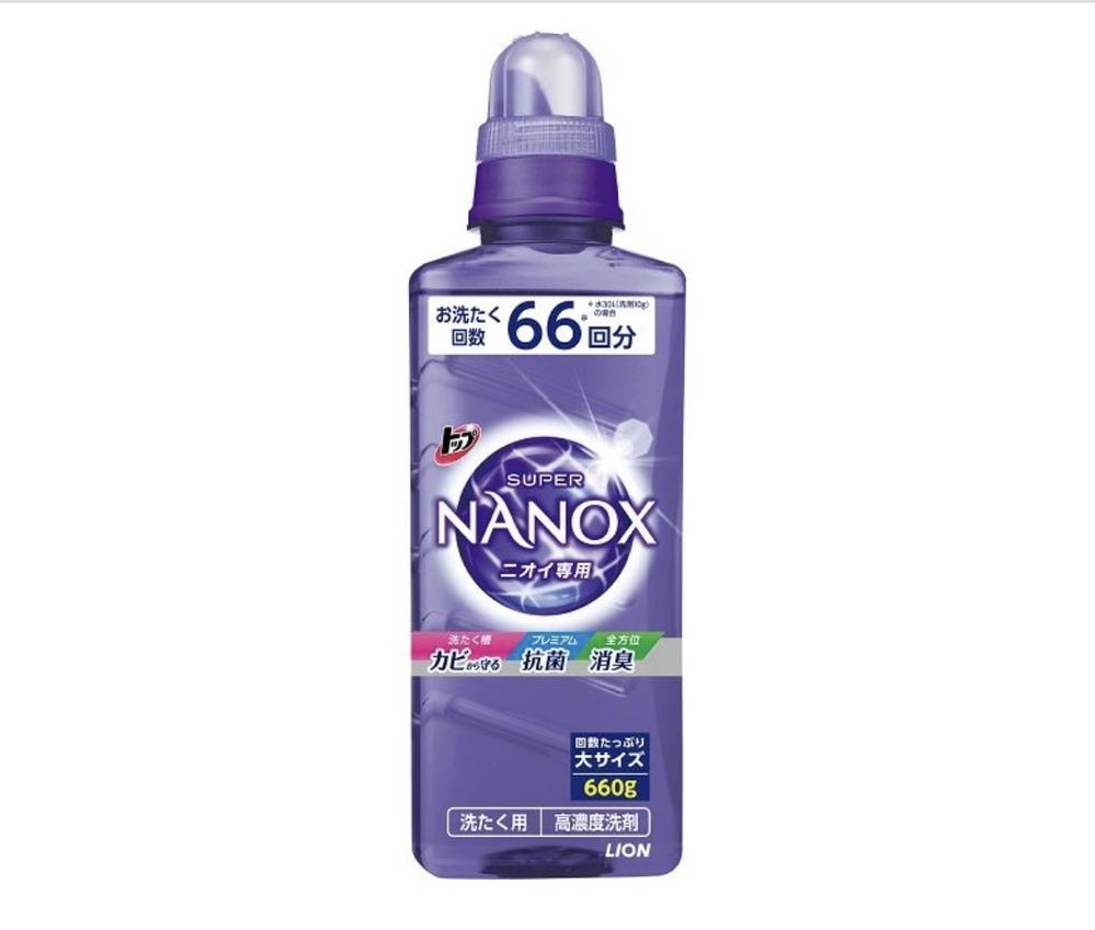 トップのスーパーNANOXの匂いが 好きなのですが香水などで近い物はありますか?