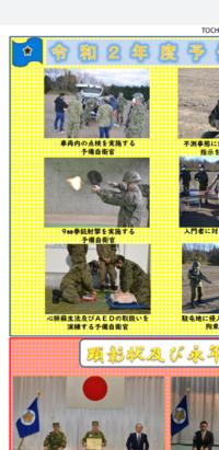 予備自衛官は拳銃の訓練をするのでしょうか? ※下の画像をみつけたものでして。