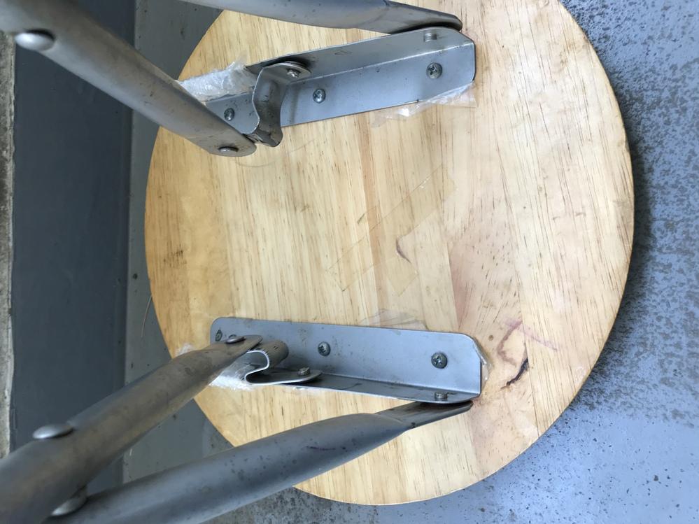 椅子が壊れました。どうすればいいと思いますか