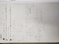 三角関数の問題です。 (2)は私は写真のように y=k と y=sin(2θ+π/6)+1/2 として解いたのですが、解説は y=k-1/2 と1/2も移行して定数分離(で合っていますか?)しています。 答えは 1<k<3/2 でした。私のやり方はどこが間違っているのでしょう?  見づらくてごめんなさい。