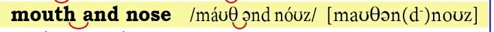 発音記号 画像の(d)とはどういう意味なのでしょうか、どうしてdにだけカッコがついてるのでしょうか?