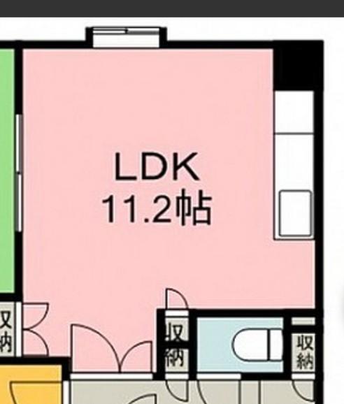 LDKのレイアウトについてアドバイス下さい。 添付した画像のような間取りの場合、どのようなレイアウトされますか? キッチン、リビングダイニングです。 必ず置く→冷蔵庫 食器棚 テレビ テレビ台 ...