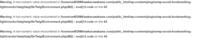 はじめての人でも作成できるというワードプレスの本とエックスサーバーでワードプレスをインストールし、 外観→新規追加→テーマのアップロード→今スグインストール→有効化で、本を進める上で必要なプラグインがインストールされ、有効化しました。  そして、読みながらワードプレスを日本語だけでつくっていったのですが、翌日にホームのHelloが最初にでていた画面の一番下のところに、画像のようなWarnin...