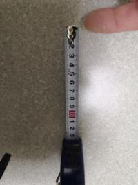 100均のスケールの先端ってすぐ壊れますね。みなさんもお使いですか? 何か寸法を測っていておかしいとおもったんですよね。