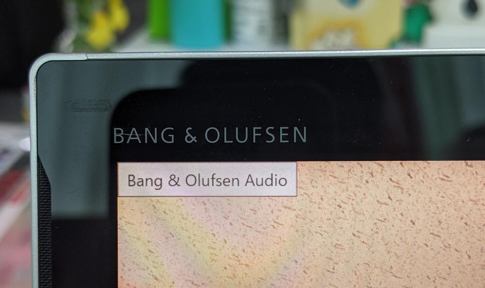 パソコンについてです。hpのELITEを使ってます。 デスクトップの左上に「Bang&Olufsen Audio」という表示が出て消そうと思っても消せません。 (クリックも右クリックもで...
