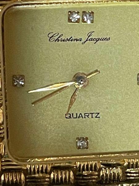 掃除をしていたらら時計が出てきました。 筆記体の所、解読をお願いします