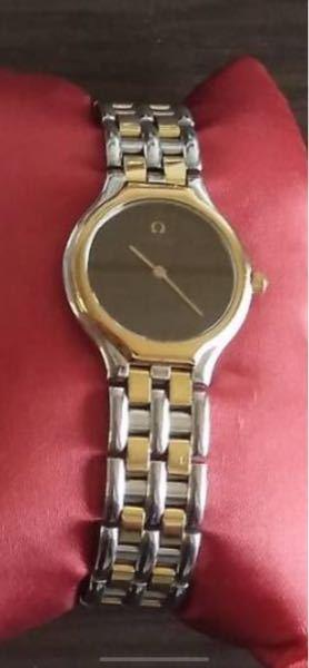 オメガのレディースの時計が出てきました。 ニューヨークの正規ショップで30年前に買ったのですが、モデル名が分かりません。 お教えください。