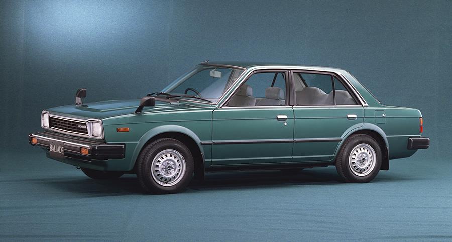 ホンダバラードはどのような車でしたか?