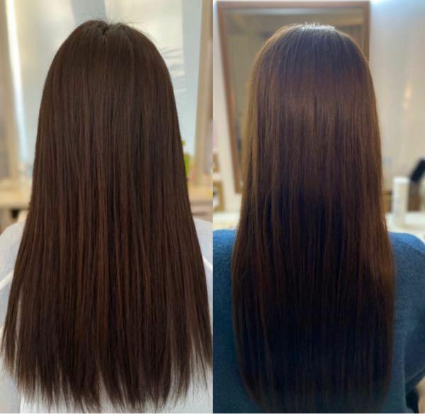 どっちの髪が綺麗だと思いますか?