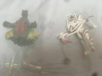 ウルトラマンの怪獣と仮面ライダーについて 画像のはウルトラマンの怪獣と仮面ライダーのライダーでしょうか? 白いのはベルトがついてるのでライダーだと思うのですが調べてもファムばかり出てきます、おしえて...