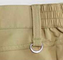 ゴルフ用のスカートやパンツについている、 ボールケースを引っ掛けるための この金具は何というものでしょうか…? ついていないスカートに自分でつけようと思ったのですが、名前がわからず。