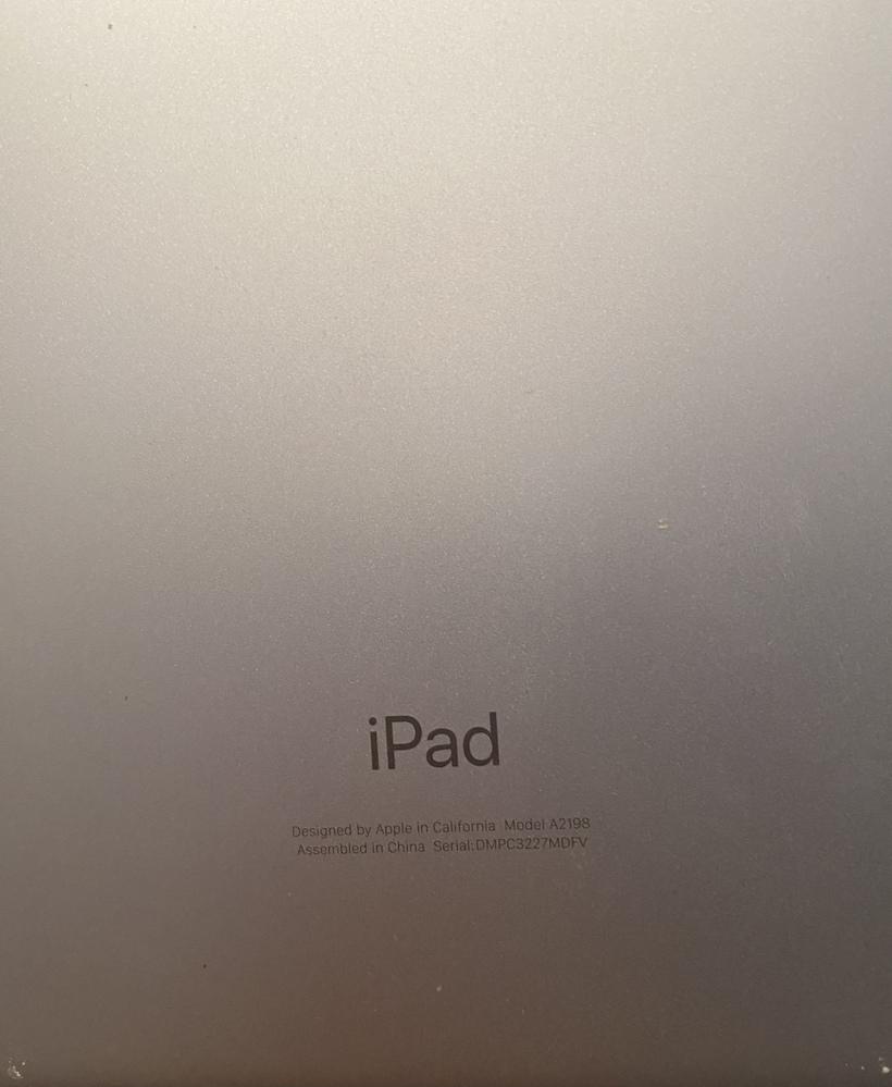 写真のiPadはこの商品に対応してますか? iPadの設定には第7世代と書いてあります。 https://www.amazon.co.jp/dp/B07ZKVZPXB/ref=cm_sw_r_cp_api_glt_i_4H94B9RKSH3289AX8AZ4 分からないことばかりなのでよろしくお願いします。