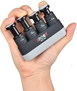 指の筋トレについて ピアノ、弦楽器、管楽器、タイピングなど指に分離動作や指の力が必要です。 特に薬指、小指に素人はなかなか力が入りません。 楽器店などには添付画像のような指の筋トレ器具が販売...