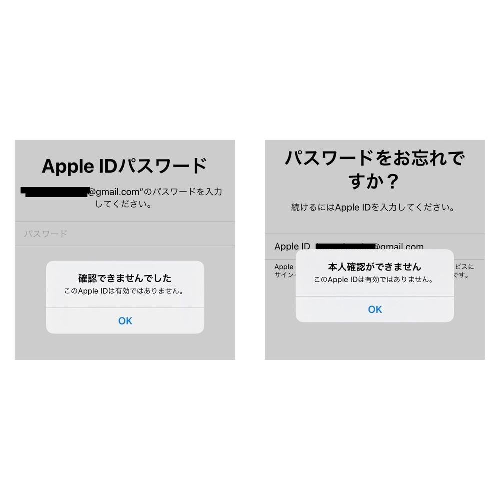 Apple IDの有効について。 AppleIDのアプデがあったので、ログインしょうとしたのですが、出来ませんでした。また、メアドも有効になっておらず、PWの確認も出来ません。初期にGmailで登録したのですが、有効期限なのあるのでしょうか?解決方法教えていただきたいです。