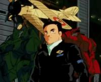 Zガンダム 画面右の赤色のモビルスーツは何という モビルスーツですか?