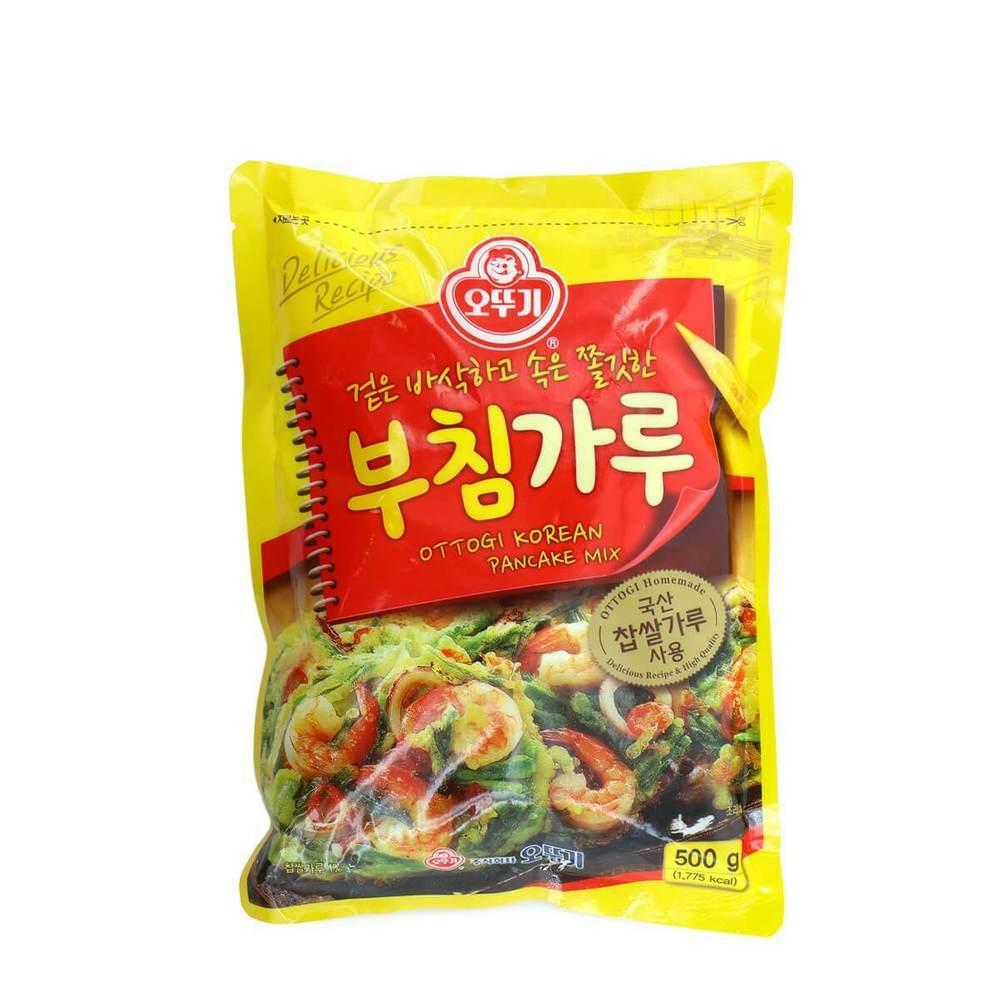 アジア系食品店に行くと韓国のパンケーキの素が売られていますが、これで日本のお好み焼きが作れますか?