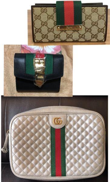 GUCCIのシルバーバッグに合わせるなら、どちらの財布がよいでしょうか? マニッシュなお洋服が好きです。