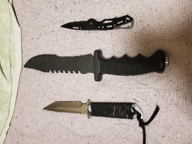 ぼくのナイフです。 どう思いますか?