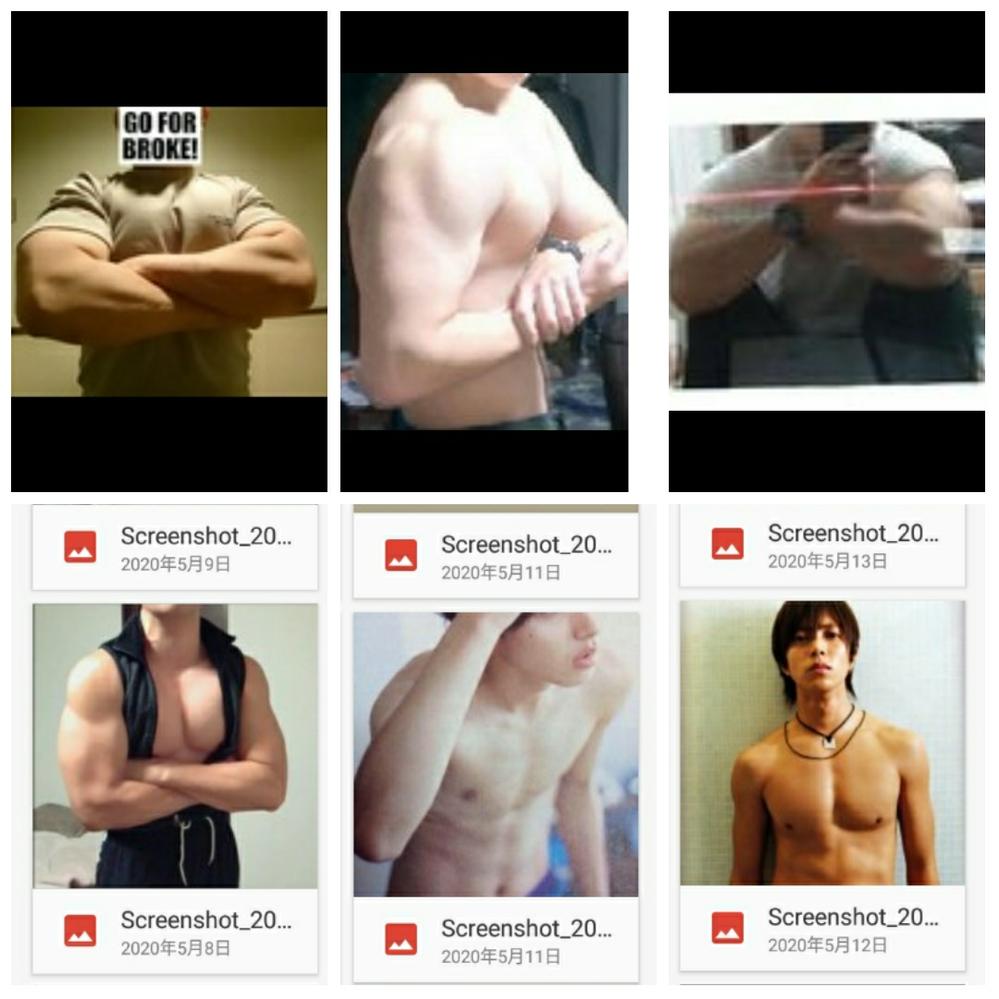 女性に質問です。この中の体だと誰の体が1番好みですか?