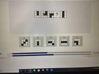 玉手箱の問題で左から右に規則的に並んでおり、その規則性を見つけ、答えを導く問題です。 全く分からないため、答えだけでなく解説もしていただけると助かります。よろしくお願いします。