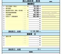 家の購入を考えております。 新築1980万円で諸経費概算が以下の通りですが、妥当でしかうか? フラット35、アシスト35を利用し、月々67000円、駐車場3台つきです。