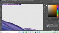 Photoshop使ってる内に上に残骸っぽいのが残るんですが・・・。透過作業中に スペックが足りないのでしょうか?ソフトのアップデート前ではそんな事なかったのに・・・。  一応スペック↓ Microsoft Windows 10 Ho...