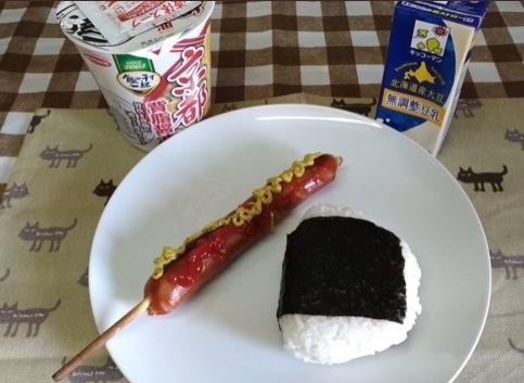この昼ごはん貧しそうに見えますか?