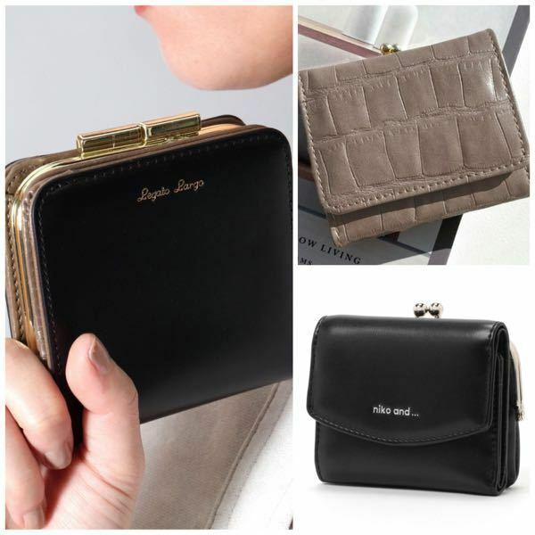 高1女子です。 この3つのどの財布にするか迷ってるんですけど、どれがいいと思いますか?? また、その他にこれも可愛いよ!と言うものがありましたら是非教えて頂きたいです>_<