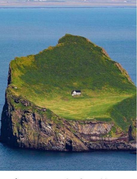 この写真はフェイクですか?本当なら何という島か教えてください!
