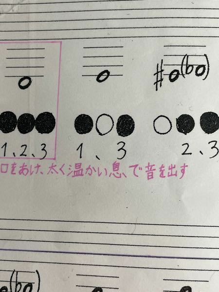 B♭の3本ピストンのチューバなんですけど 123と1.3と2.3の指をドレミで表すとなんですか? また、それより下の指を教えて欲しいです