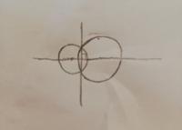高校数学。 2つの円の共有点を通る直線と、2つの円の中心を通る直線の2つの直線は常に垂直に交わると言っていいのでしょうか? 理由と共に説明していただければ幸いです。