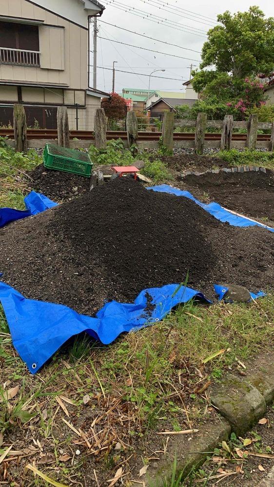 千葉の南房総市で、もともと家が建っていた空き地で畑づくりをしています。 雑草をかり、根切をし、土をほり、土をふるい。。 さて、ここから肥料を!とおもい、いろいろ調べてみると、石灰やら牛糞やら鶏糞やら。。。どうしたらいいかわからず。教えてもらいたく投稿しました。 よもぎや、菜の花が自生していたのですが・・・石が多く、土は黒くやわらかいです。へちまやナス、きゅうりを植えたいのですが。 どのような...