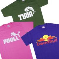 ネット通販を見てたらおもしろTシャツを見つけちゃいました~ʕ ◔ᴥ◔ ʔ♪ こういうおもしろ系やパロディ系のTシャツってお好きですか?それともお嫌いですか?ฅฅ*  ☆upple♪