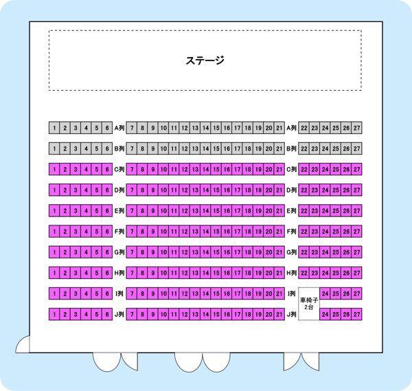 来月、初めて友達と森ノ宮よしもと漫才劇場に行くのですが、座席番号が i 7と8になりました!写真で見る感じだと 後ろに行くにつれて段差があるわけではなく、私も友達も背が低いので、座高も当然低いし...