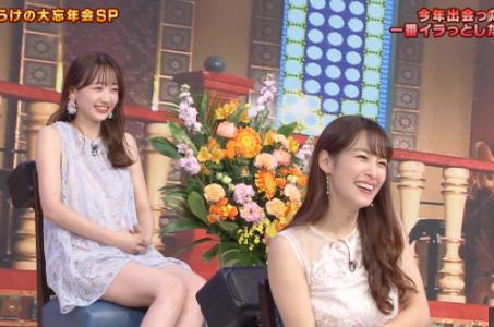 バチバチバトルの鷲見玲奈と高田秋どちらが好きですか?
