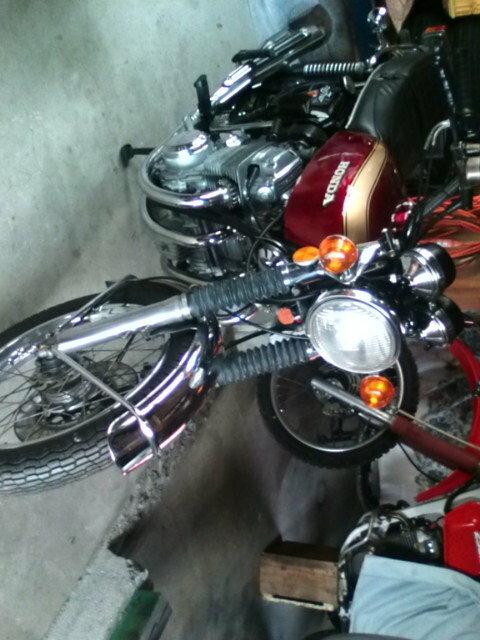 このバイクの型式がわかる方いましたら教えていただきたいです。