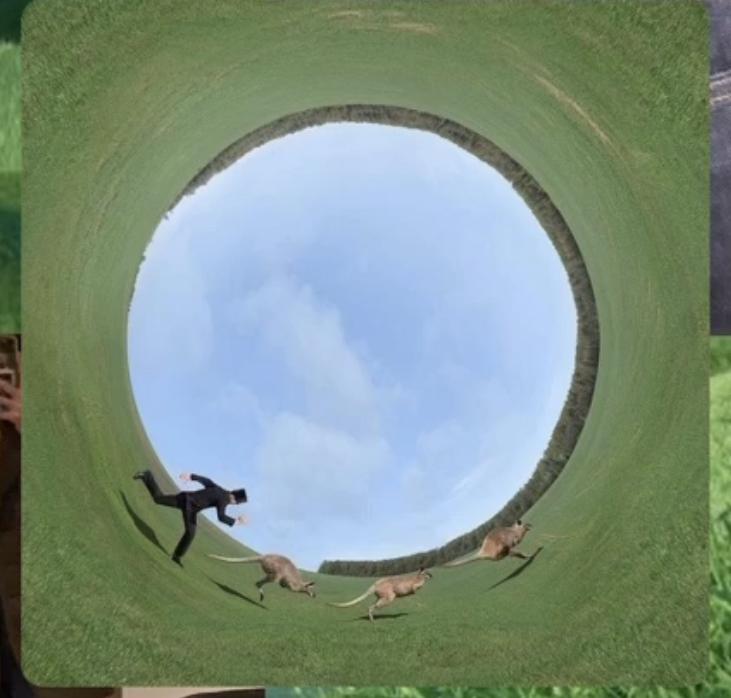 画像のように撮った写真を円のようにするにはどうしたらいいですか?