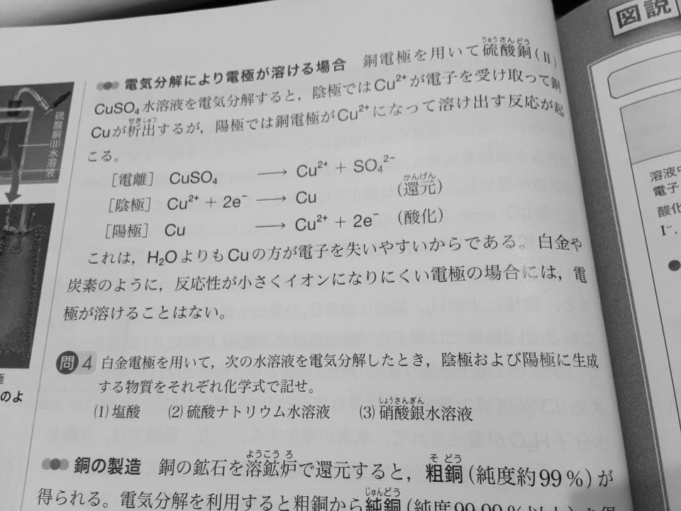 高校化学 写真の問4がわかりません。 教えてください。