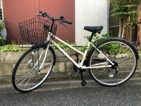 この自転車どう思いますか?自分はかっこいいと思って買ったんですけど、友達にゆーほどかっこよくないと言われました。現在高二です。