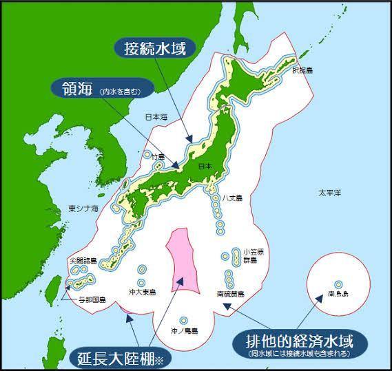 南鳥島だけ日本本土の排他的経済水域から離れて、孤立してますけど、その場合日本の船は、日本本土の...
