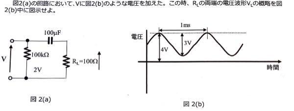 この問題の解答と解説を教えていただきたいです。大学の電子回路の問題です。よろしくお願いします。