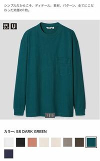 【パーソナルカラー・イメコン】 UNIQLOのメンズのクルーネックTシャツです(キッズサイズにも同じ色あります) この色(ダークグリーン)はパーソナルカラーで言うとどこのシーズンでしょうか。  ご回答お待ちしております。