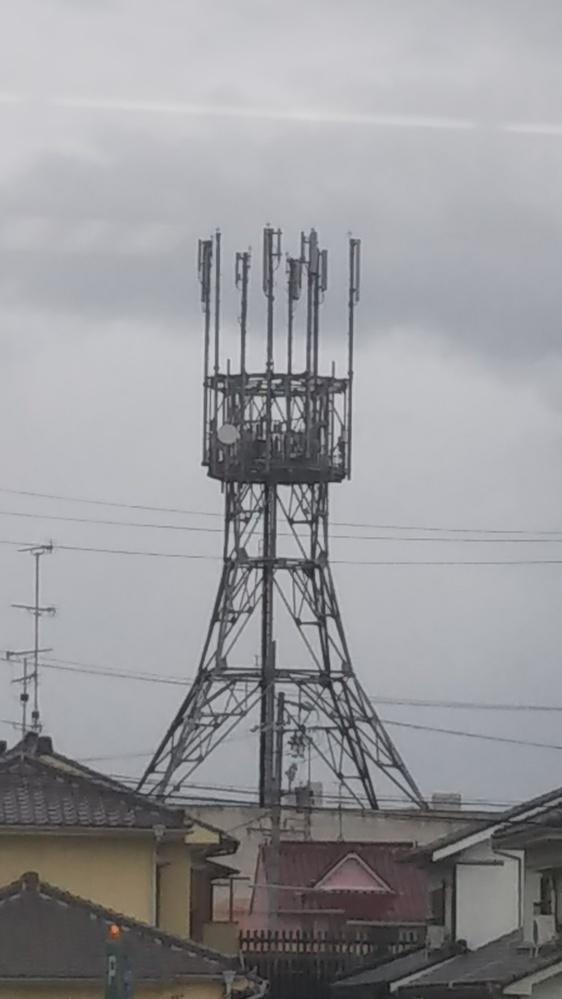 これは何ですか? 電波塔ですか??