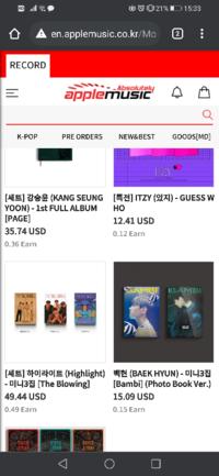 韓国のapple musicでアルバムを買う方法が知りたいです。韓国しか配送してくれません、、か?