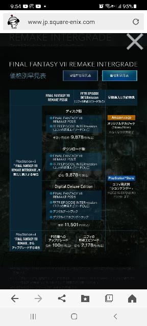 FF7リメイクのインターグレネードをPS4でプレイするにはアップグレードの100円とDLCを買え