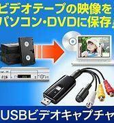 USBビデオキャプチャですが、PCにリアルタイムでDVDから取り込んだ場合、データはMP4になるのでしょうか? 写真のような製品です