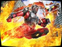 「仮面ライダー龍騎」で仮面ライダー龍騎は必殺技(ファイナルベント)であるドラゴンライダーキックを発動すると契約モンスターであるドラグレッダーの火炎放射を身にまといライダーキックを繰り出していましたが、 肝心の龍騎自身はドラグレッダーの火炎は平気なんですか?