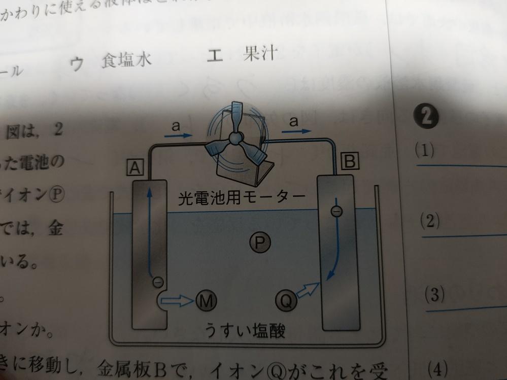 塩酸に亜鉛と銅を入れてできる電池の名前について教えて下さい。 この画像のようなものです。