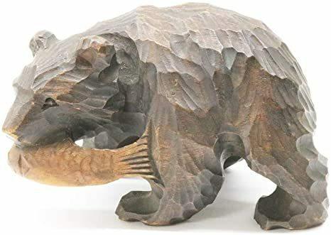 【大喜利】 北海道土産でお馴染み、木彫りの熊の活用法を教えてください。