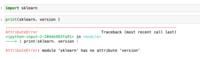 Python勉強中です 以下エラーで止まっています どうしたらいいですか?